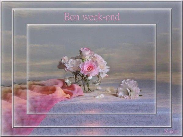 Bon week-end à vous toutes et tous